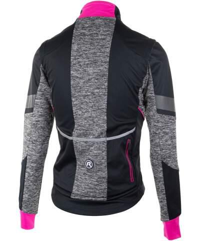 Damska kurtka softshellowa Rogelli BLISS z oddychającym panelem tylnym