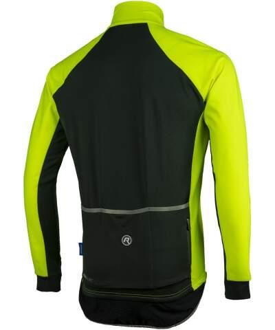 Wodo i wiatroodporna koszulka kolarska z długim rękawem Rogelli ALL SEASONS z softshellem i DWR