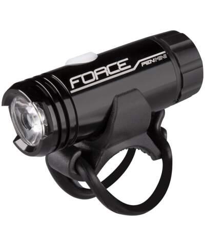 Lampa przednia Force PEN MINI 150LM USB