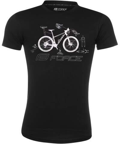 Koszulka t-shirt Force COOL BIKE