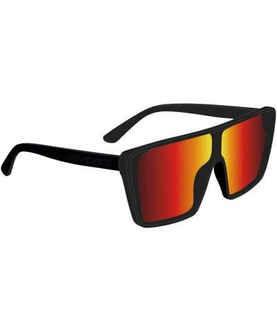 Okulary rowerowe Force SCOPE szkła czerwone
