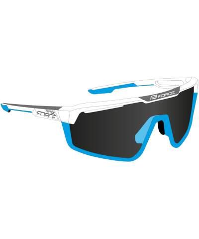 Okulary rowerowe Force APEX szkła czarne