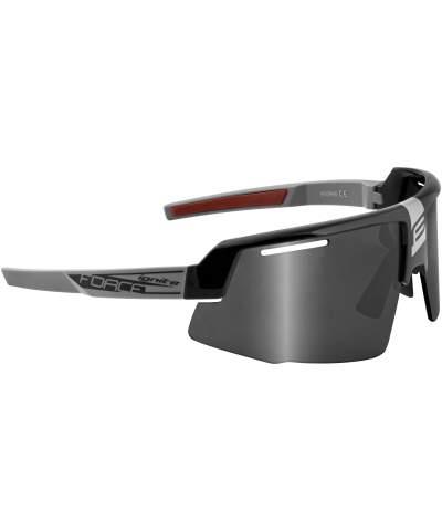 Okulary rowerowe Force IGNITE szkła czarne