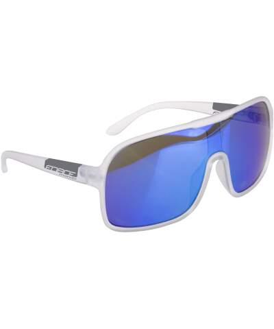 Okulary rowerowe Force MONDO szkła niebieskie